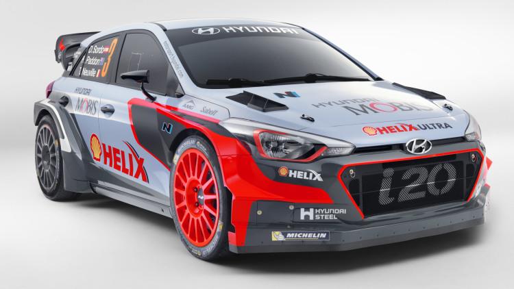 2016 Hyundai i20 WRC Rally Car pics