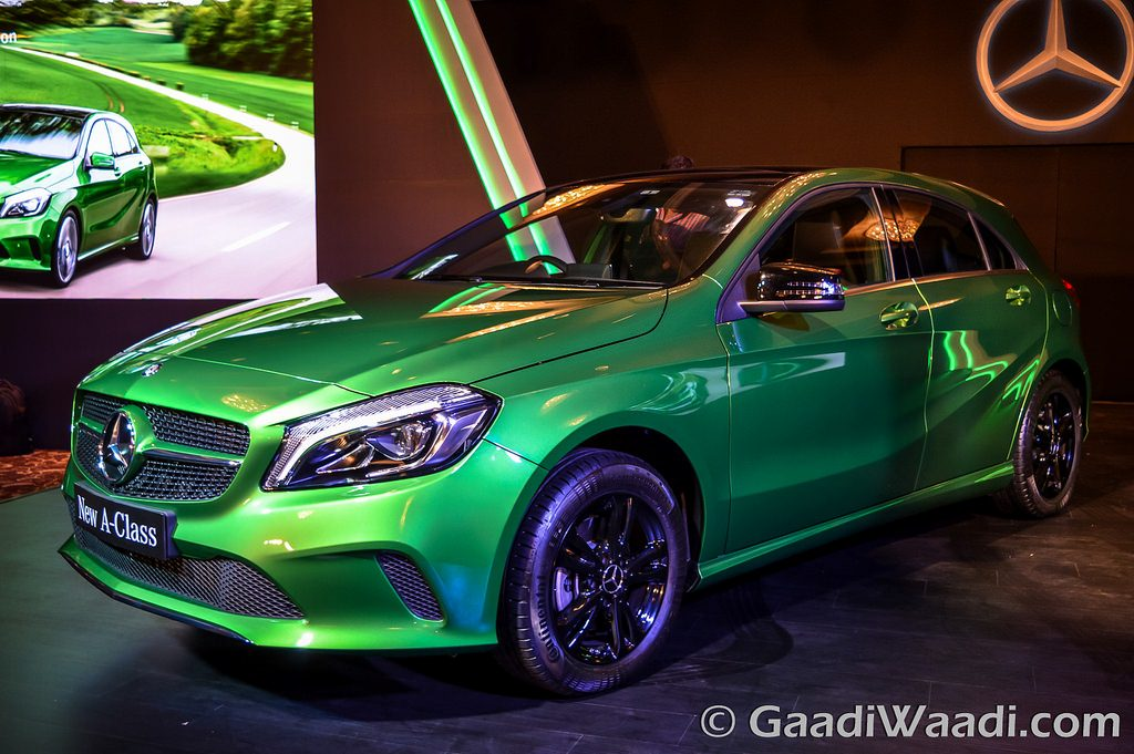 2016 mercedes benz a class launched in india at for What country makes mercedes benz cars