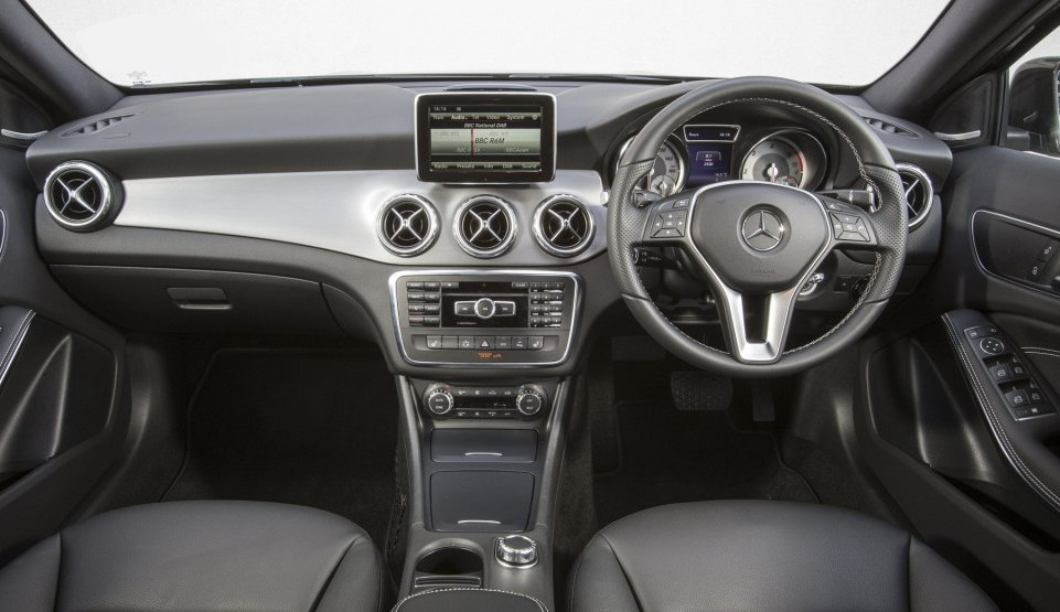 Mercedes benz gla infotainment system and interiors could for Mercedes benz navigation update 2016