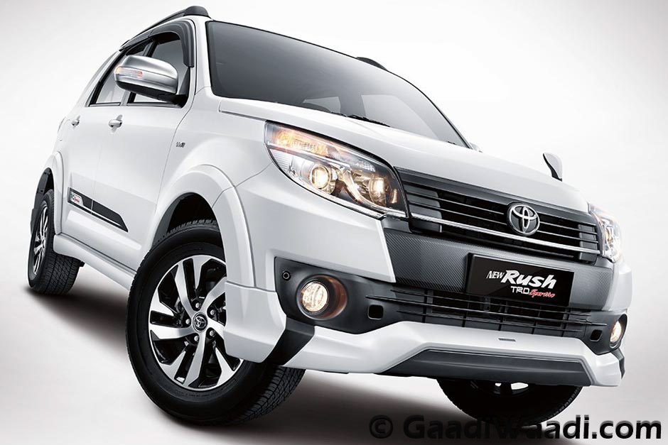 Toyota Rush Compact Suv India Launch Specs Pics Price