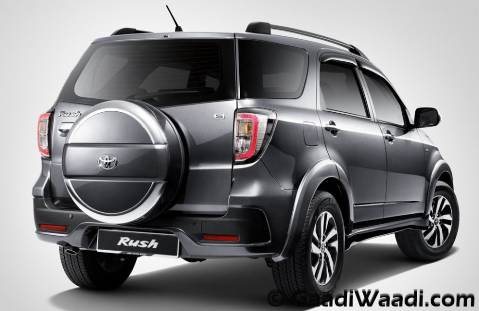 toyota rush compact suv india debut rumoured at auto expo 2016