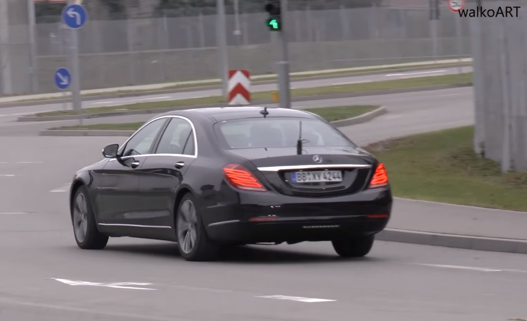 2018 Mercedes S-Class Facelift Spotted without Camouflage ...