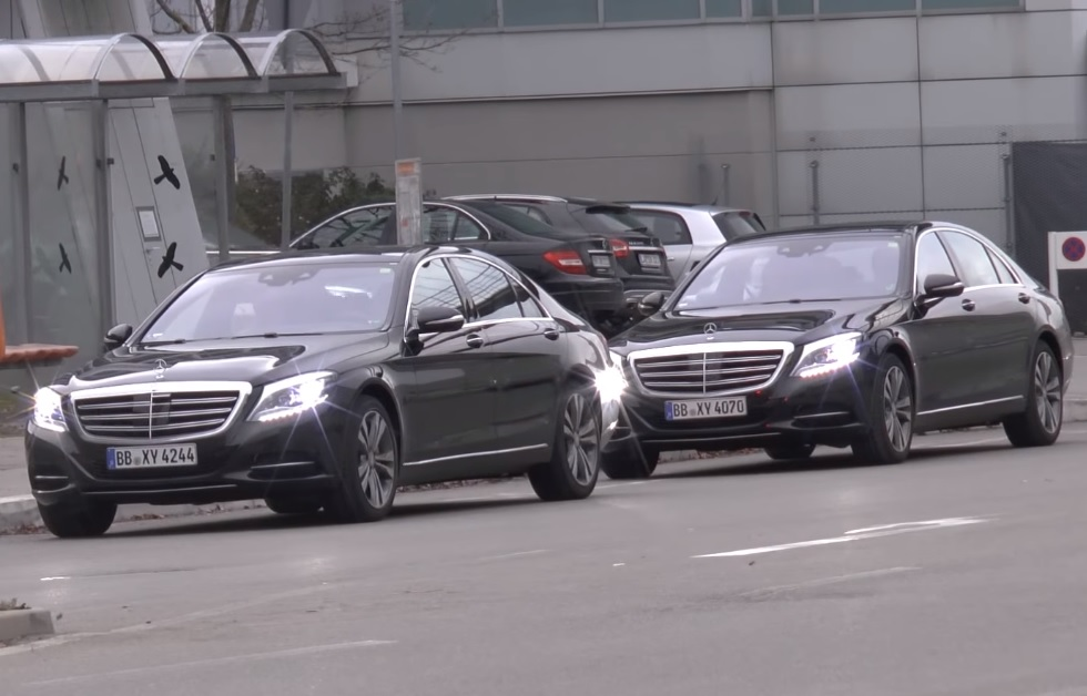 2018 Mercedes S-Class Facelift Spotted without Camouflage - Gaadiwaadi ...