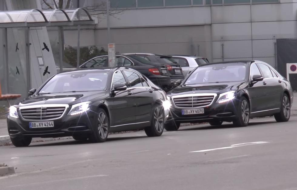 2018 Mercedes S-Class Facelift