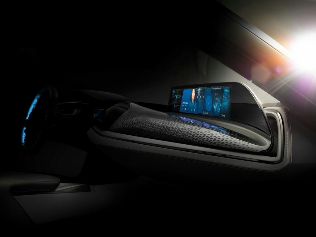 BMW i8 Spyder Interiors Teased Ahead of 2016 CES Debut ...