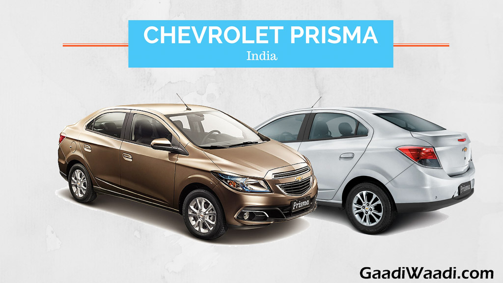 chevrolet onix and prisma india launch date specs pics