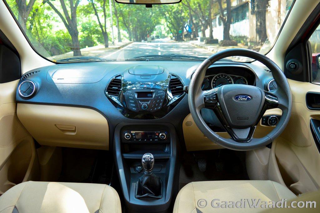 Ford Figo Aspire Interior Titaninum Plus