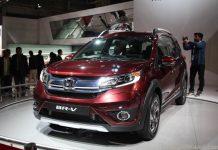 Honda BRV Unveiled at Auto Expo-2