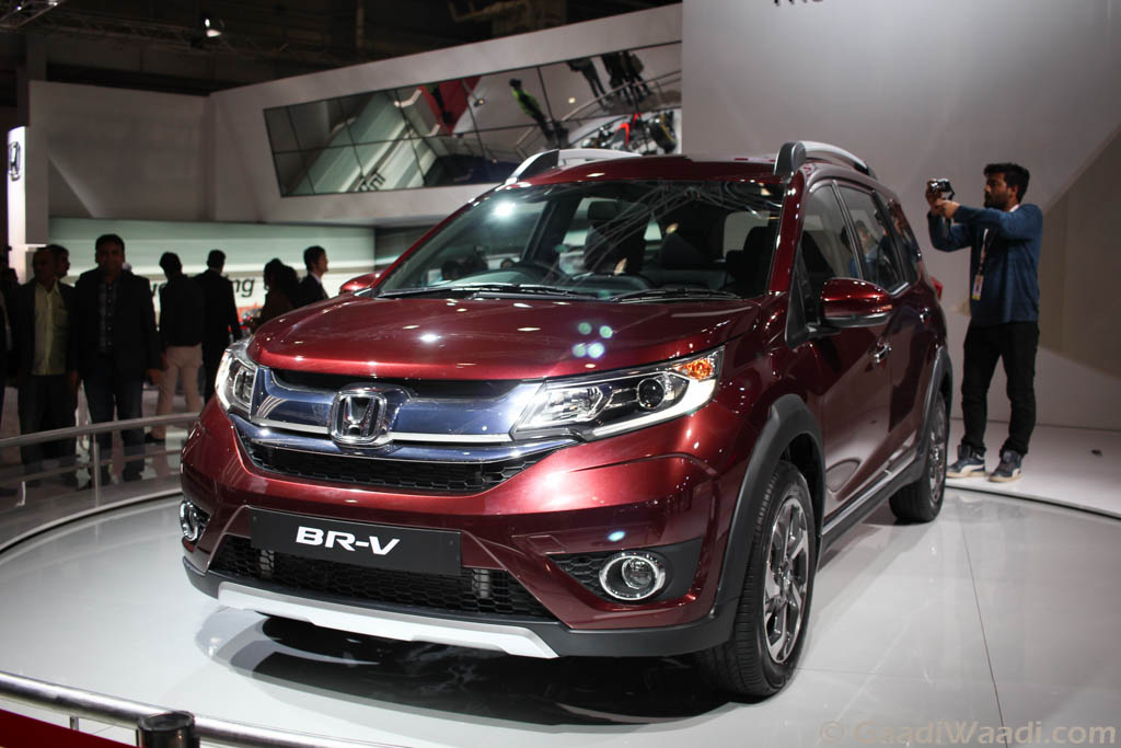 Honda Brv Br V Suv Launched Features Spec Price