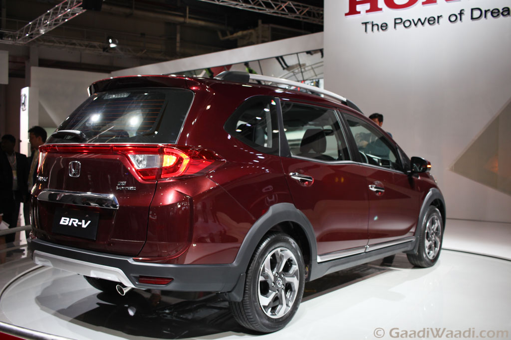 Honda BRV (BR-V) SUV Launched, Features, Spec, Price