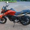 Honda CB Hornet 160R side view imagea