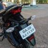 Honda CB Hornet 160R taillamp