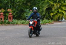 Honda CB Hornet 160r First Ride Review-2