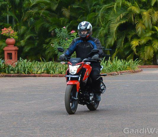 Honda CB Hornet 160r First Ride Review-2