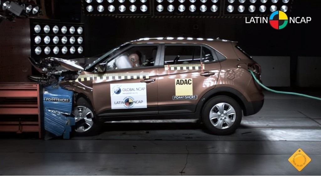 Hyundai Creta Crash Test