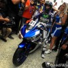 Jorge Lorenzo Rides Yamaha R3 with Customers -4