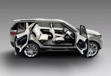 Land Rover Discovery Vision Concept side doors