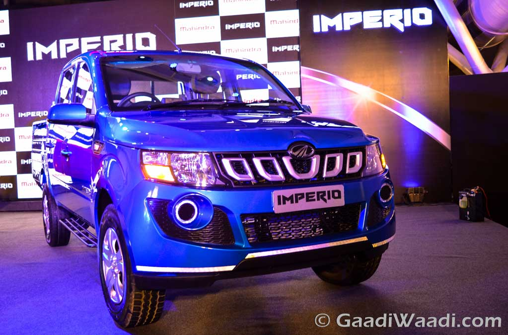 Mahindra Imperio double cab launched