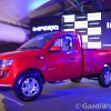 Mahindra Imperio red colour