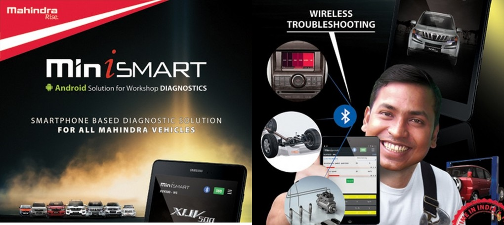 Mahindra miniSMART wireless diagnostic android app launched