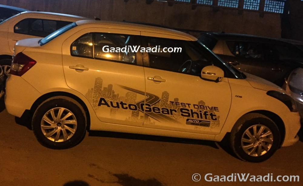 Maruti Suzuki Swift Dzire AMT AGS india-1