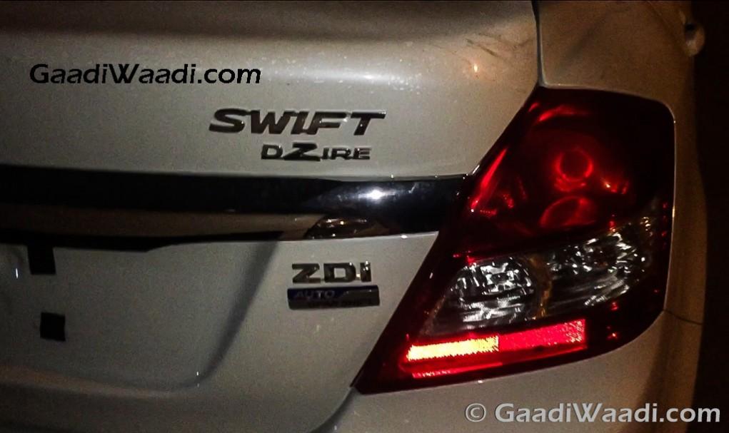 Maruti Suzuki Swift Dzire AMT AGS india-5