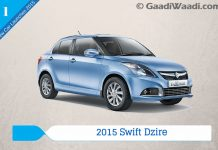 New Car Launches in 2015 in India 2015 swift dzire