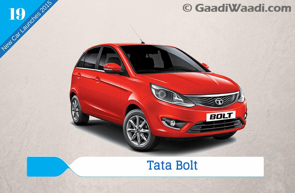 new car releases in 2015 indiaNew Car Launches in 2015 in India tata bolt  Gaadiwaadicom