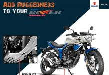 Suzuki Gixxer Skid Plate India