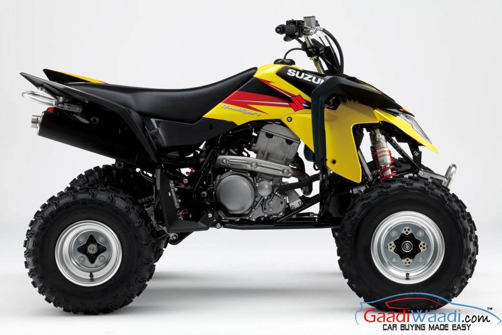 suzuki launches atv 39 s in india bearing 250cc and 400cc engines latest car. Black Bedroom Furniture Sets. Home Design Ideas