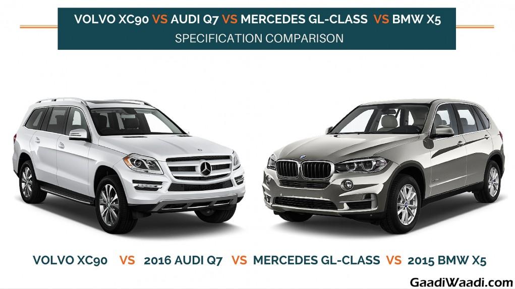 Volvo Xc Vs Mercedes Gl