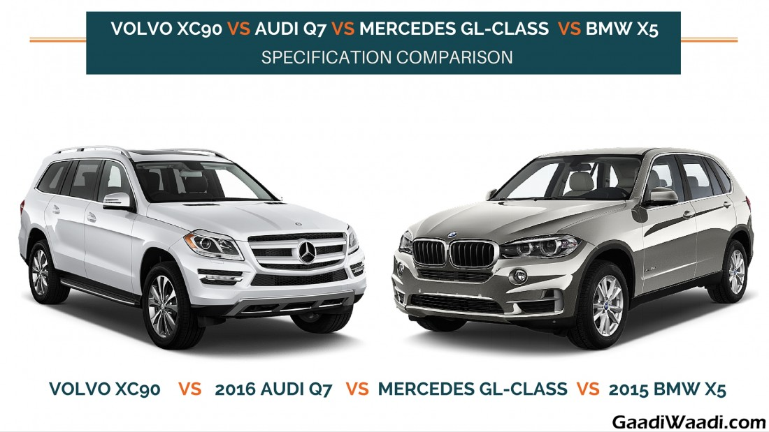 Mercedes Gl Vs Bmw X5 Autos Post