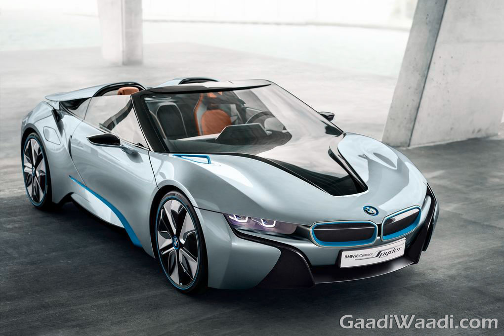 BMW I8 Spyder Interiors Teased Ahead Of 2016 CES Debut