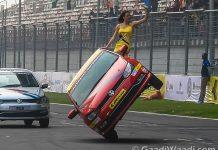 JK Tyre Polo Stunts
