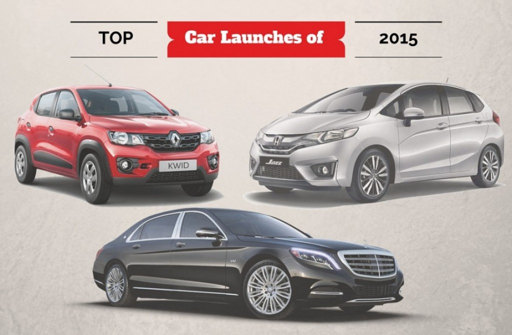top car launches of 2015 in india