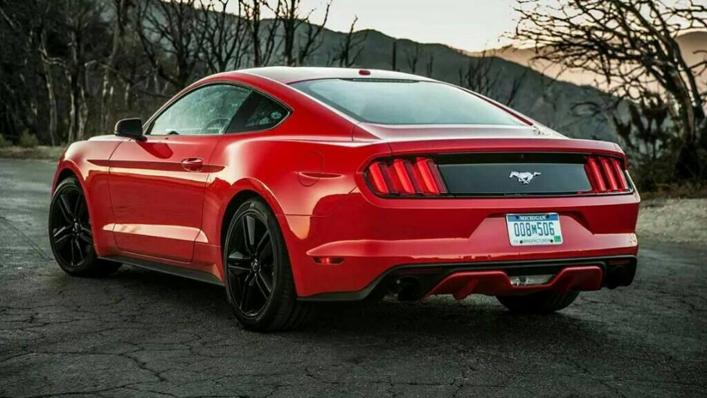 2015 Ford Mustang India Rear
