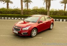 2016 Chevrolet Cruze Review India