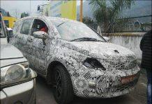 2016 Tata Hexa Front Fascia Spy Shot 1