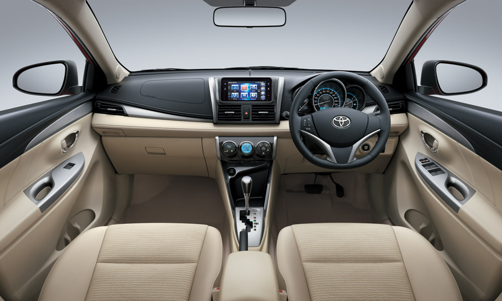 2016 Toyota Vios India Dashboard