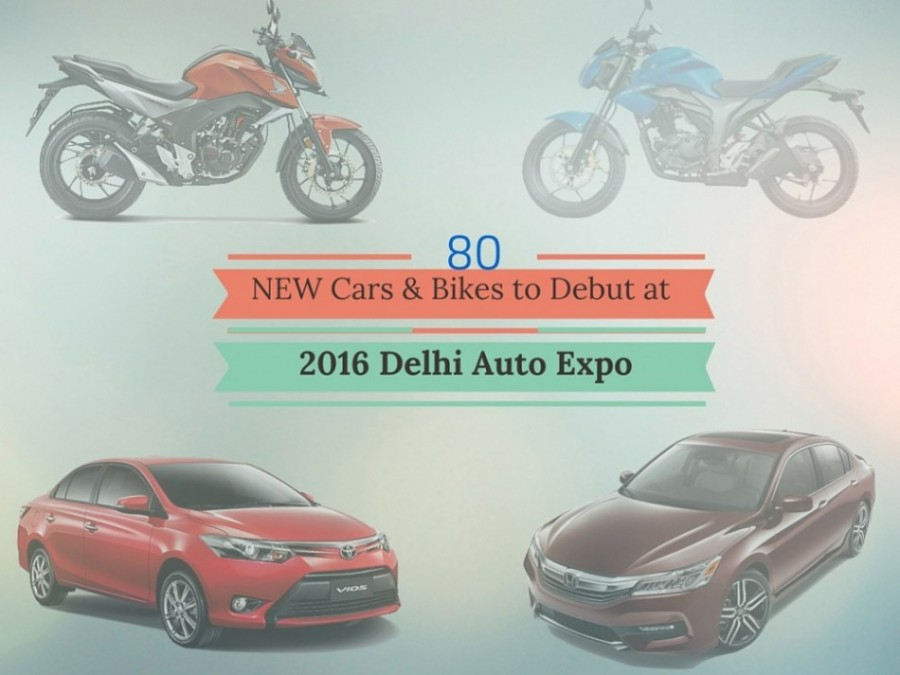 80 new car and bike to debut in 2016 auto expo