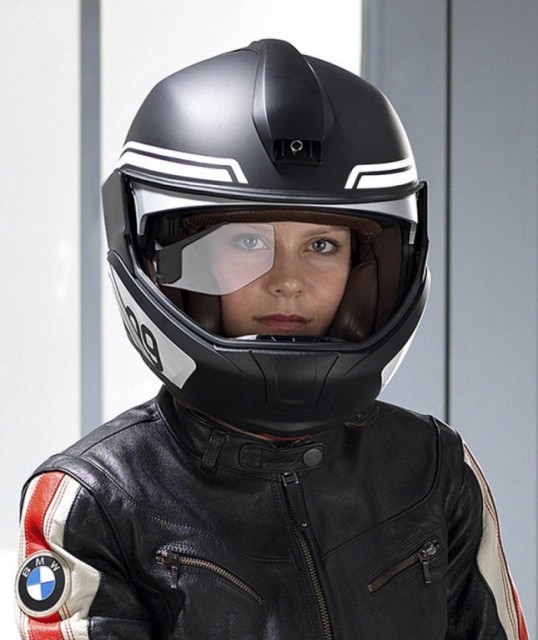 BMW Helmet Heads Up-Display 4