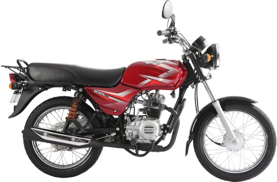 Bajaj Ct 100 b India mileage