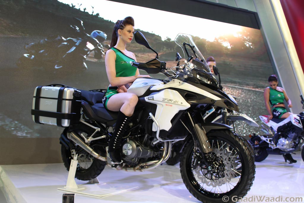 DSK Benelli TRK 502 Adventure (Benelli And DSK Motowheels Split )