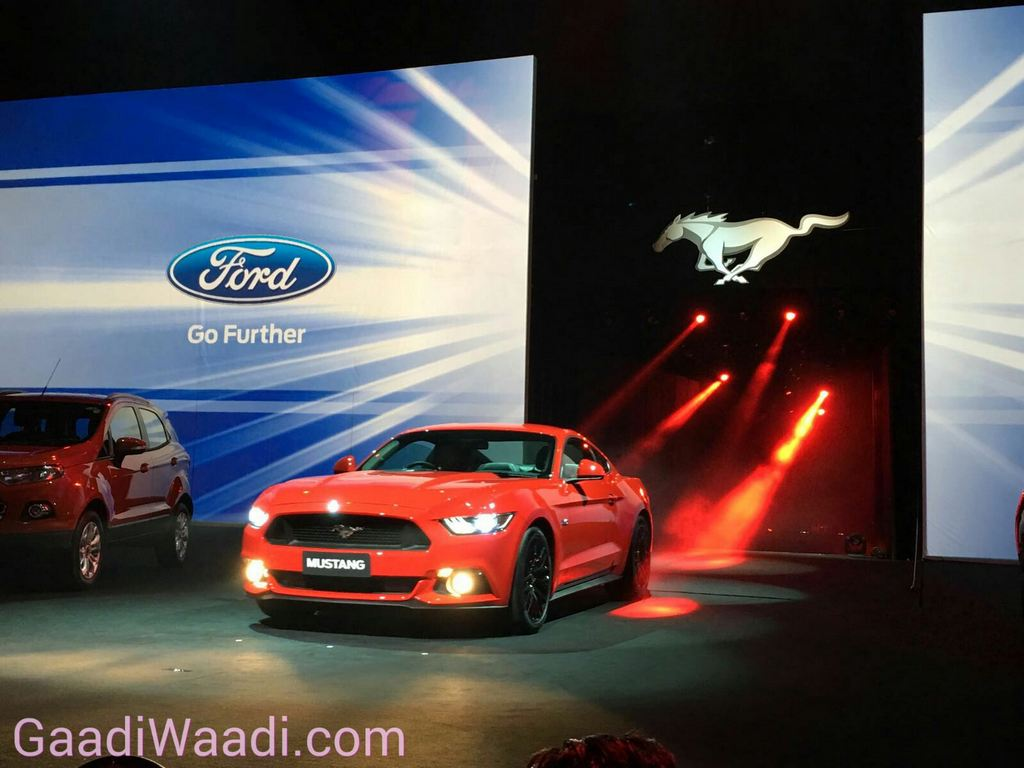 Ford Mustang India Launch 2