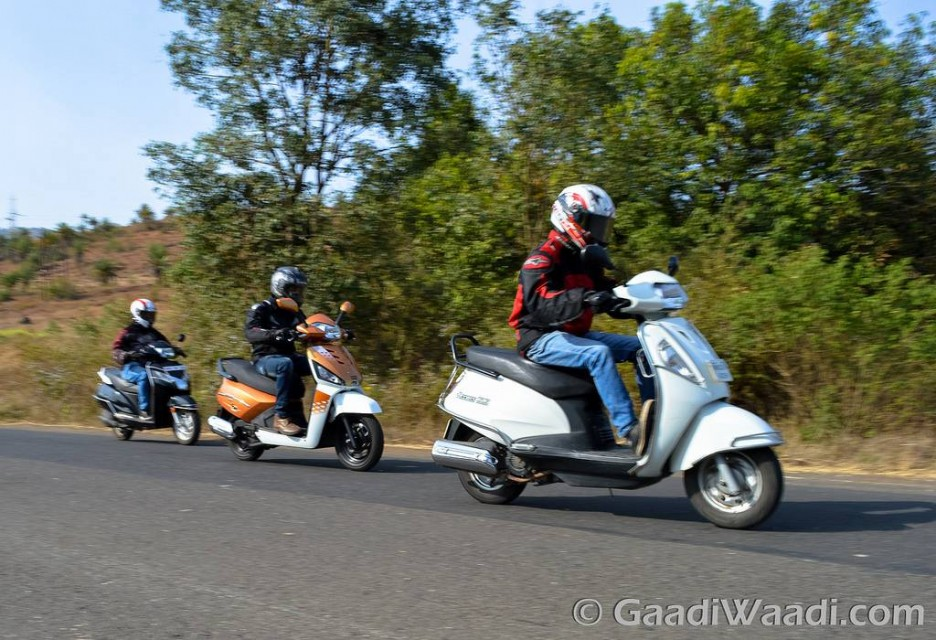 Gusto 125 vs Activa 125 vs Access 125 Review
