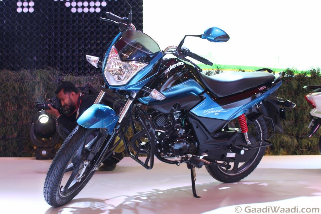 2016 Delhi Auto Expo Hero Motocorp Reveals Splendor 110
