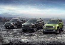Jeep 75th anniversary lineup 2016