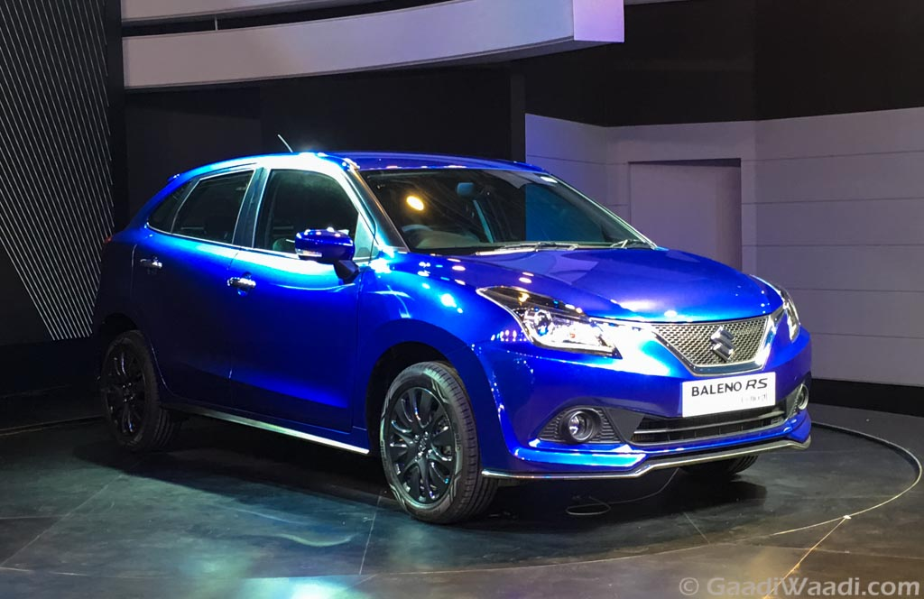 2016 Auto Expo Maruti Baleno Rs Unveiled Launch Later