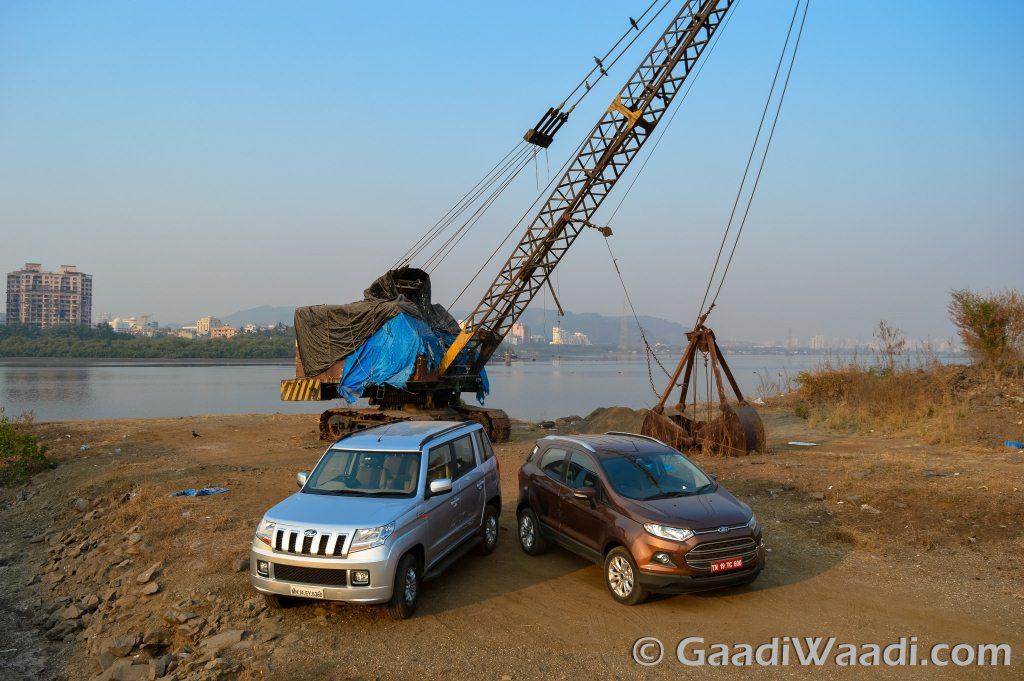 Mahindra TUV 300 vs Ford Ecosport Review
