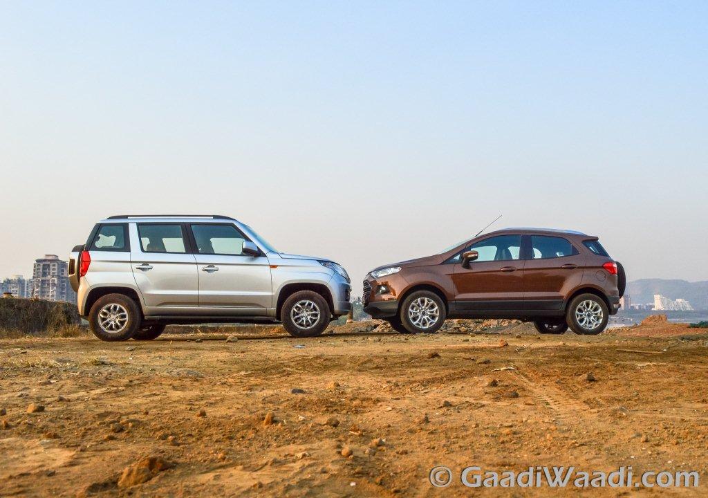 Mahindra Tuv300 Vs Ford Ecosport Comparison Shootout